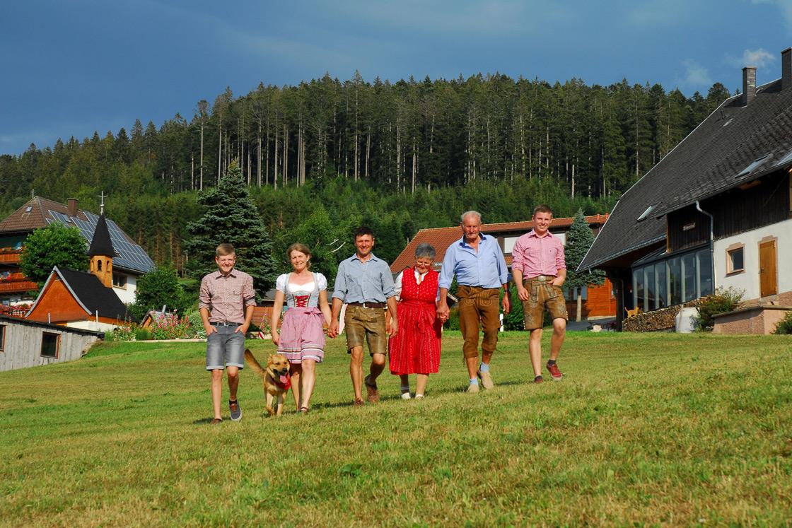 Familie Fehrenbach vom Wilmershof